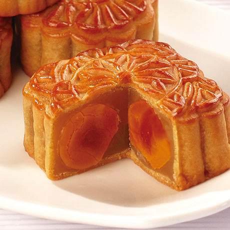 百色广式月饼-蛋黄馅