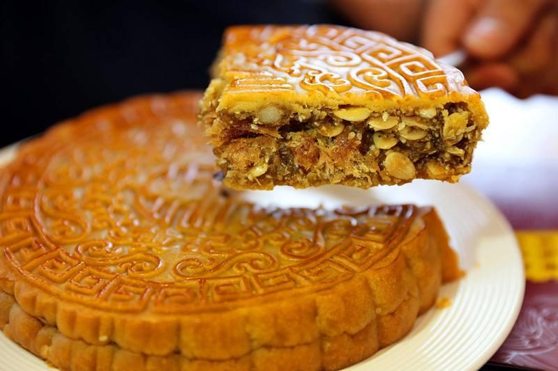 百色叉烧大月饼