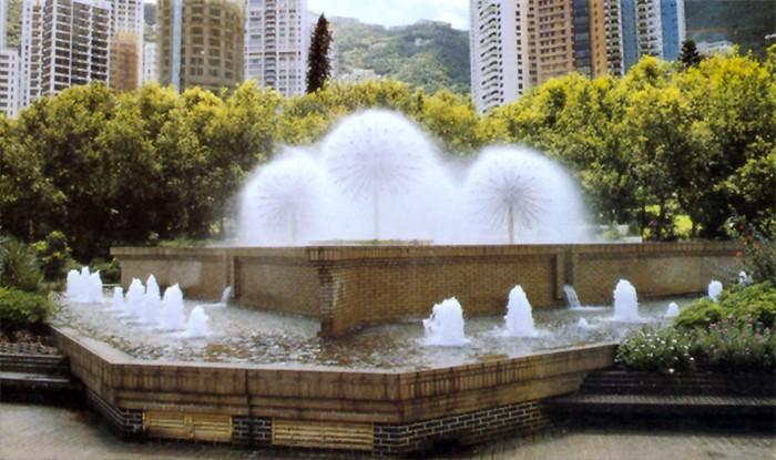 德阳珠帘喷泉