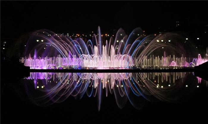 北海音乐喷泉
