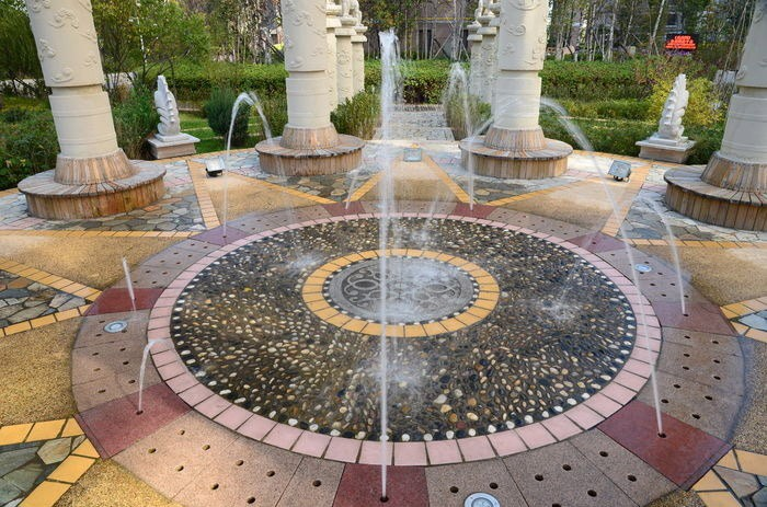北海庭院喷泉