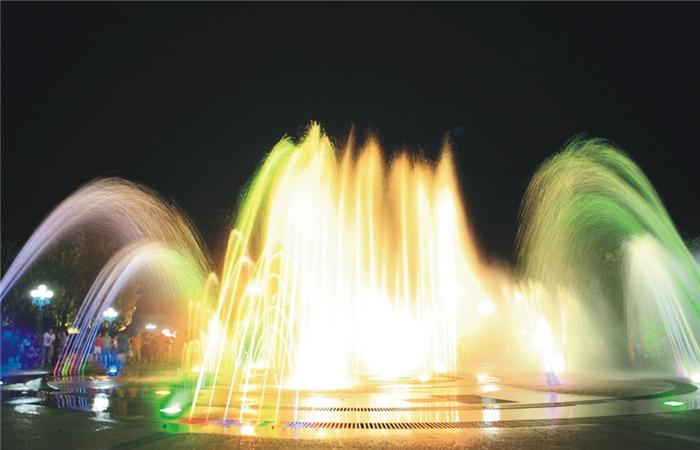 德阳七彩动感喷泉