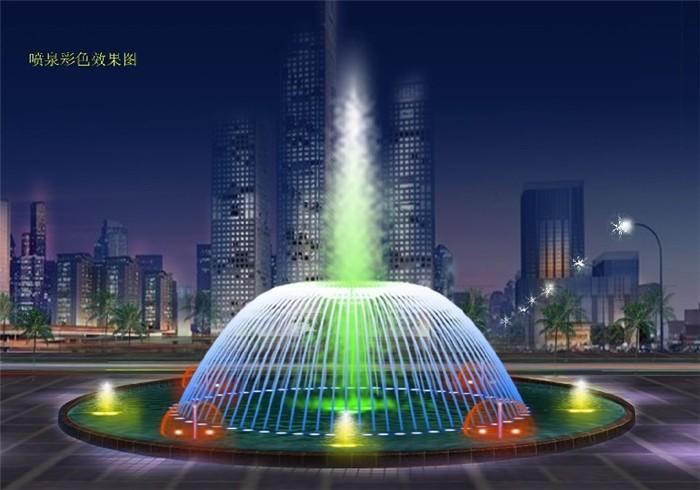 北海广场喷泉