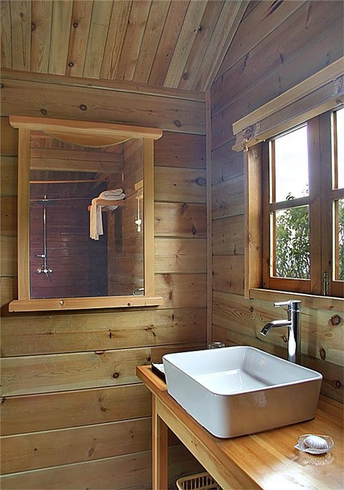 木屋洗漱室效果