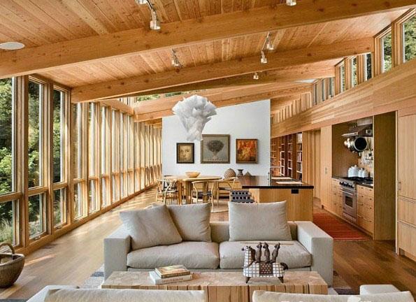 木屋客厅效果