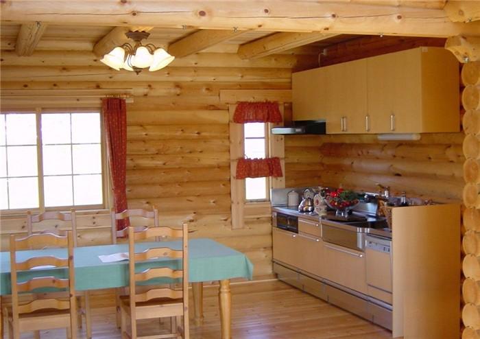 木屋餐厅效果
