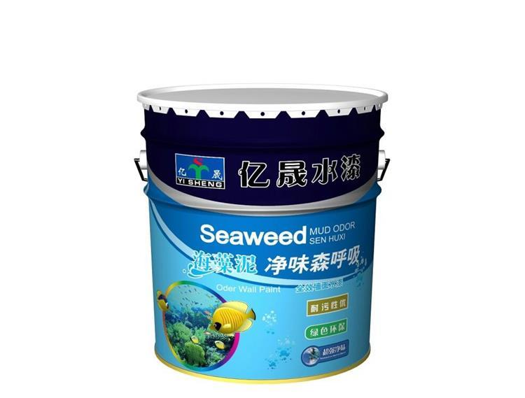 海藻泥净味水漆
