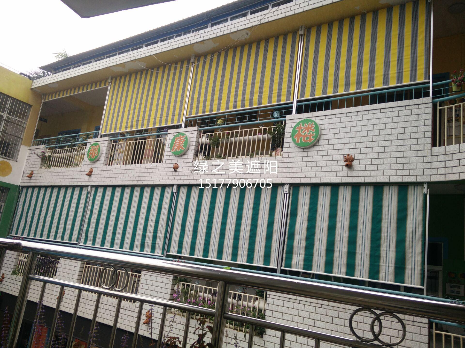 柳州垂直帘工程案例