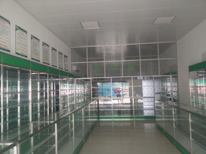 裝修完成的連鎖藥店之一
