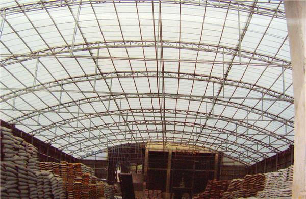 江西FRP采光瓦運用于工廠建造效果