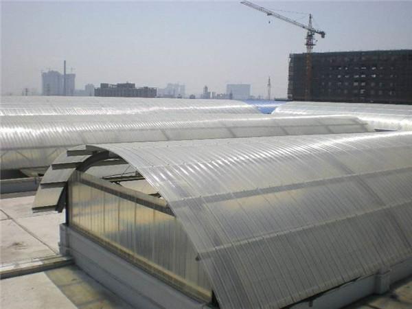 江西FRP采光瓦透光瓦用于蔬果瓜棚建造效果