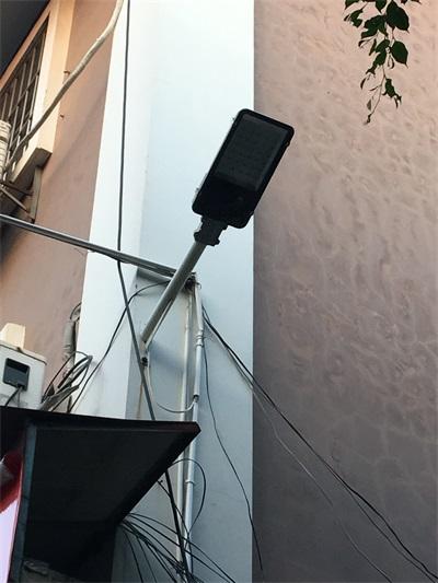 欽州單臂路燈安裝工程