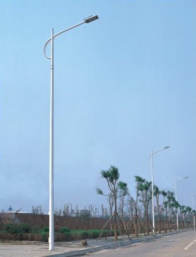 防城港單頭燈桿安裝工程