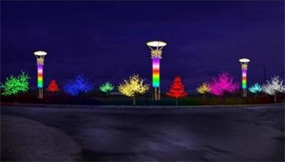景觀燈安裝工程