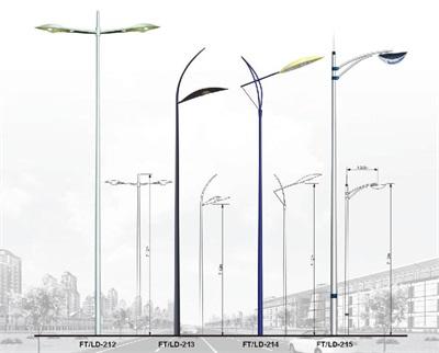 賀州路燈桿造型