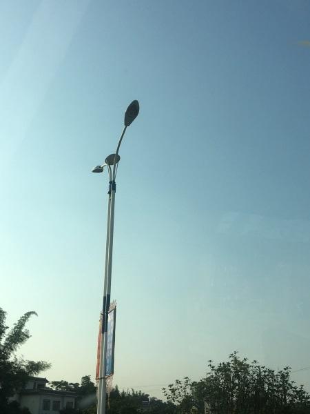 雙臂路燈安裝