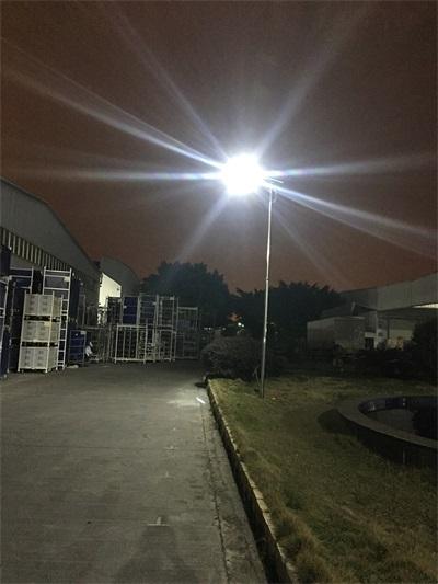 從化太陽能路燈工程安裝