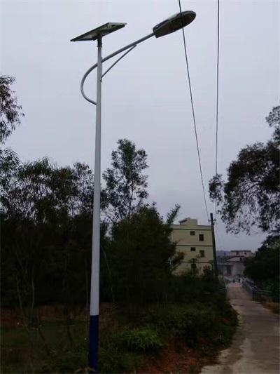太陽能路燈安裝工程