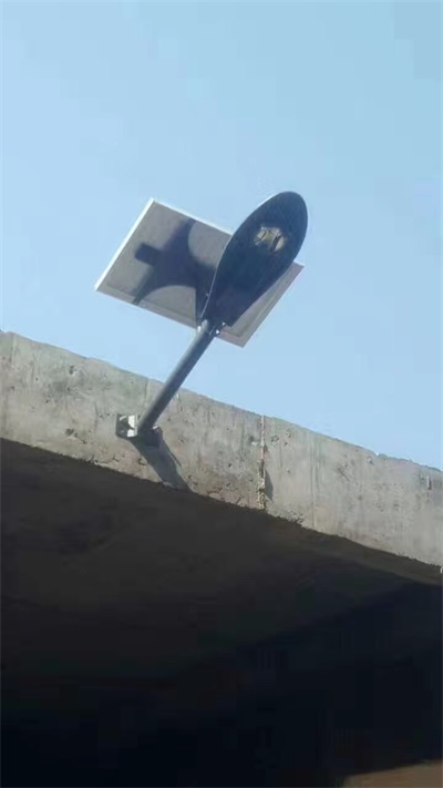 從化光伏太陽能路燈廠家