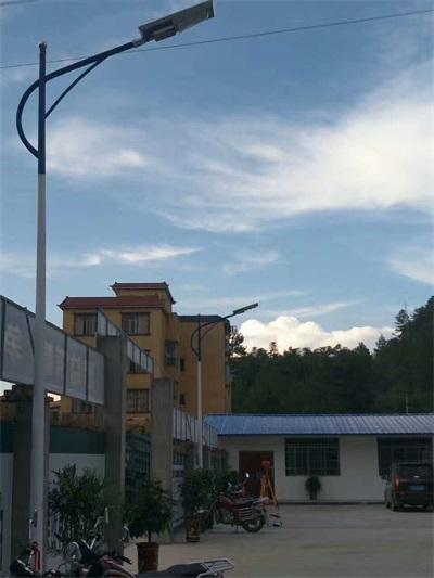 從化光伏太陽能路燈安裝