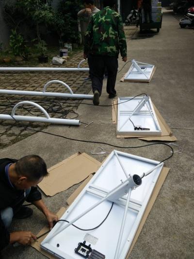 光伏太陽能路燈安裝