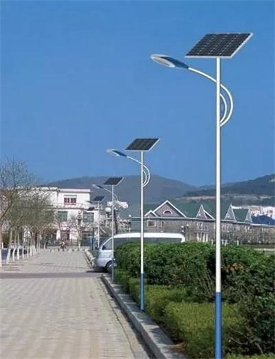 光伏太陽能路燈安裝工程