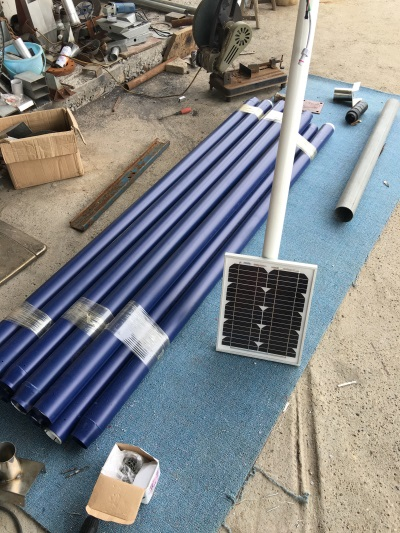 光伏太陽能路燈工程安裝