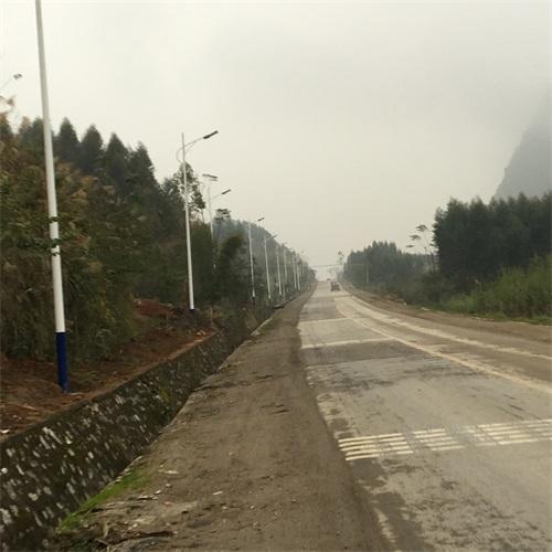 柳城馬山亮化工程