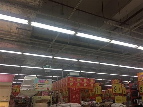 從化柳州南城百貨照明工程