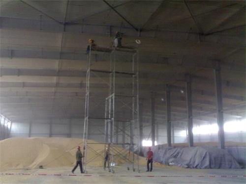 從化欽州港倉庫照明工程