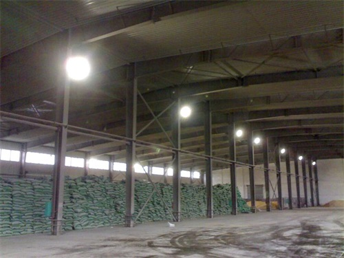 欽州港倉庫照明工程