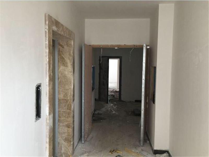 電梯前室施工現場