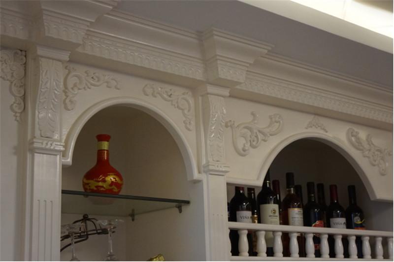 南寧·華南城-江南華府小區商品房裝修圖例-餐廳