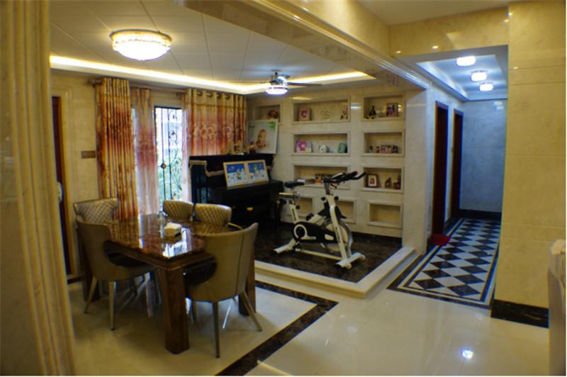 南寧·華南城-江南華府小區商品房裝修圖例-過道