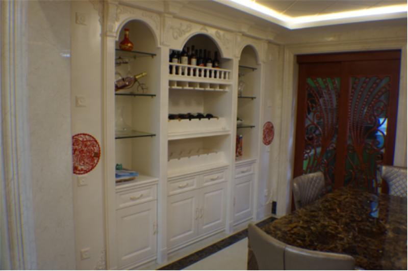 南寧·華南城-江南華府小區商品房裝修圖例-酒柜