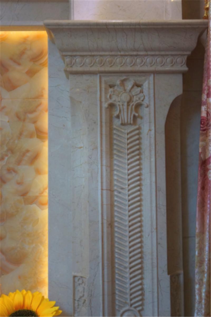 南寧·華南城-江南華府小區商品房裝修圖例-石材線條