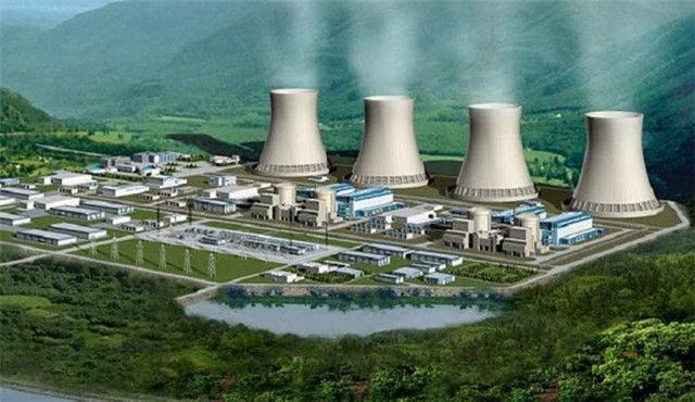防城港核電廠遠觀圖