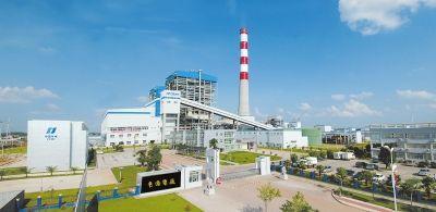 中國華電貴港發電廠俯拍圖