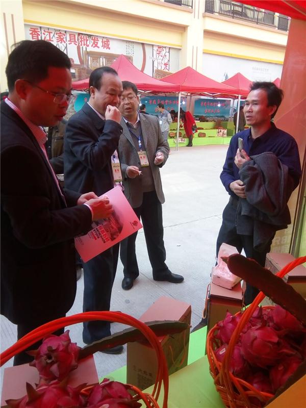20161219归义镇物流城农产品展销会