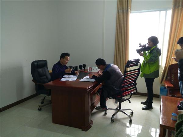 20170115岑溪市电视台采访安安农业总经理何总
