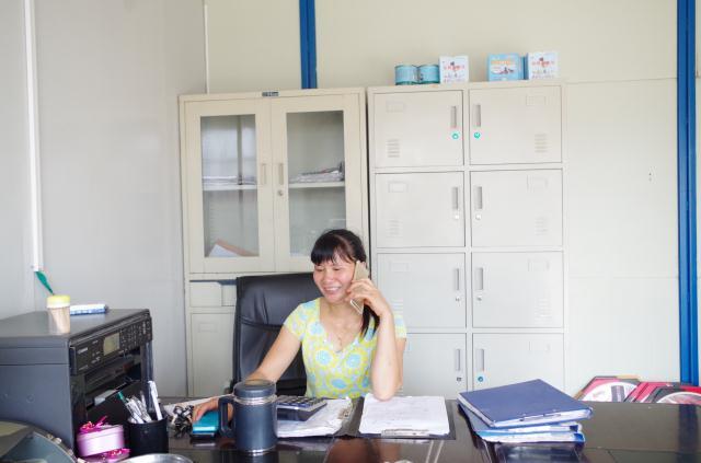 忙碌的办公员工
