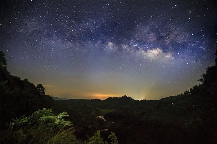 丹霞星空奇观景
