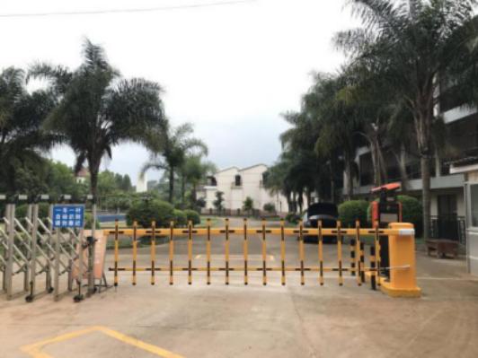 那马锦龙潭山庄停车场系统