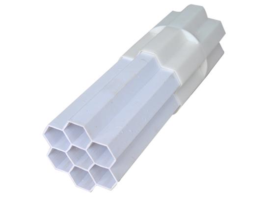 PVC栅格管