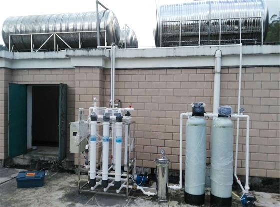 靖西市龙邦海关-生活饮用水超滤过滤manbetx万博ios效果图
