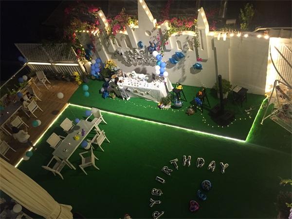 别墅生日party