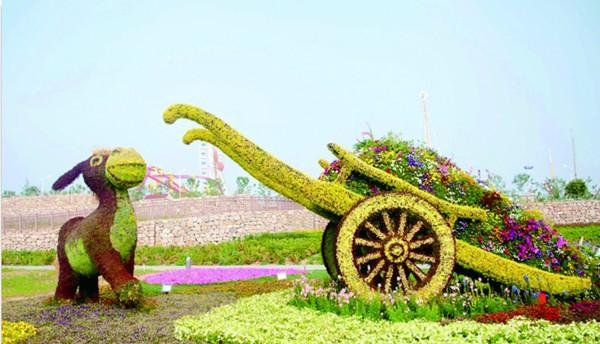 桂林花卉租摆