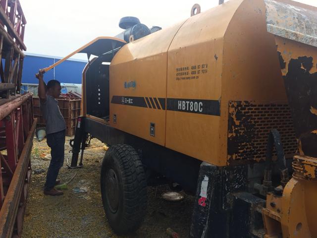 車載式混凝土輸送泵