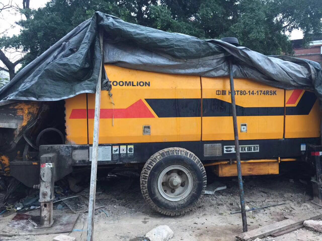 二手混凝土輸送泵