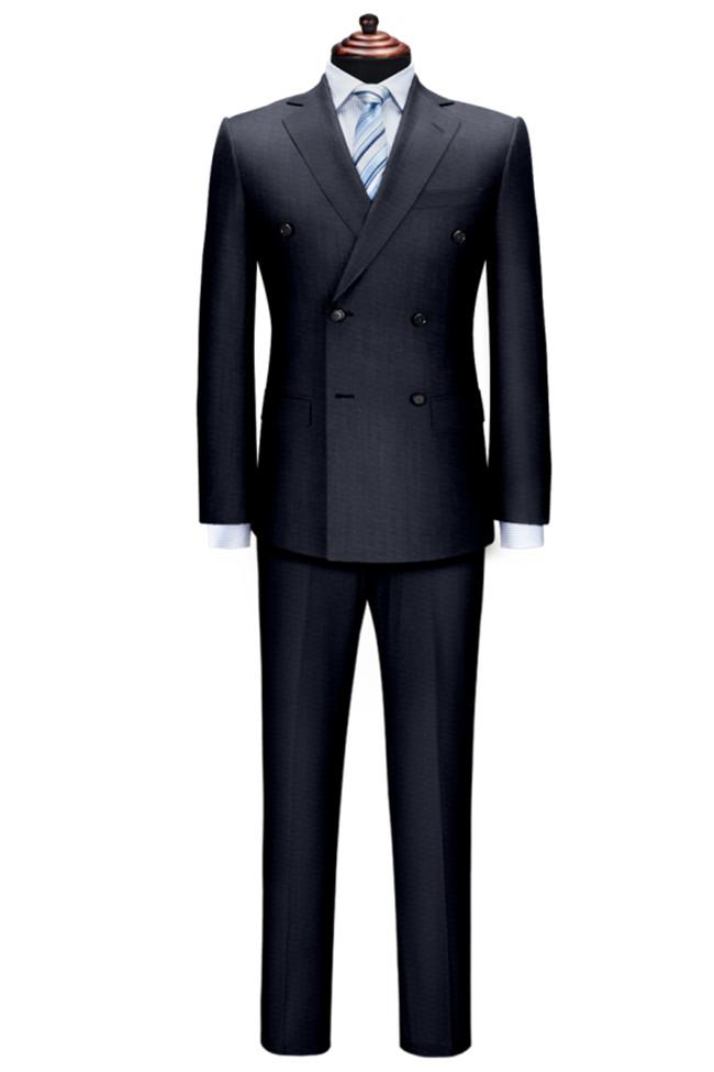 经典黑色西服套装